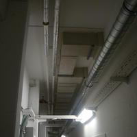 Brandschutz Bekleidung von Stahlblechluftleitung