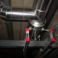 Kältedämmung (Rohr) mit PU-Ortschaum