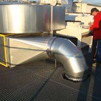Wärmedämmung - Luftleitung rund